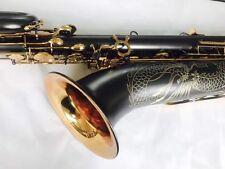 Professional Eb Baritone Saxophone Black Nickel body Low A +case