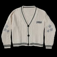"IN HAND 100% Authentic Taylor Swift Folklore ""Cardigan"" Sweater M/L Cable Knit"