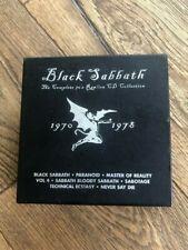 Black Sabbath - Box Set cdx8 (Rhino black box)