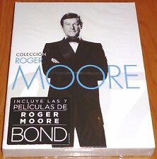 COLECCION ROGER MOORE James Bond / Sólo para sus ojos + Moonraker + 5títulos mas