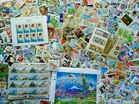 Worldwide Off Paper Unpicked 500 pcs World Stamps Mint & Used Collection Lot
