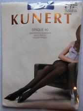 KUNERT Strumpfhose Opaque 40 blickdicht, matt   Gr.40-42 Purple-Rain   bd
