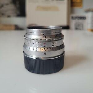 Leica 35mm summaron f2.8 (L39, LTM, M MOUNT)