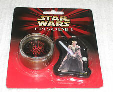 STAR WARS  *** EPISODE 1 - ERASER AND PENCIL SHARPNER  *** BRAND NEW - CARDED