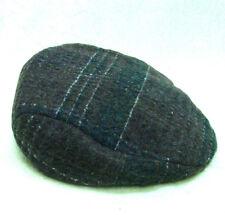 80ef45159ab3c Dorfman Pacific Mens Brown Wool Plaid Ivy Golfing Duck Bill Hat Size Medium