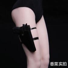 "1/6 P226 Weapon Rifle Model Left W/Quick Pull Leggings Holster F 12"" Gun Figure"
