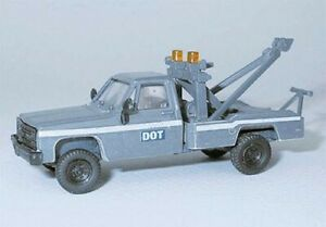 Trident Chevrolet Dept. of Transportation Tow Truck - HO Scale Model Railroad