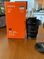 Sony FE 20mm f/1.8 G Lens (SEL20F18G)