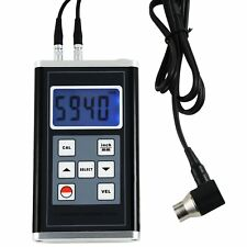 Ultrasonic Thickness Gauge Meter Aluminum Steel Cast Iron Pipes 0.9~400mm Range
