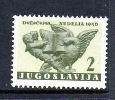 YUGOSLAVIA MNH 1956 SG834 OBLIGATORY TAX. CHILDREN'S WEEK
