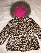 AMY BYER GIRL'S BABY Cheetah   COAT, JACKET
