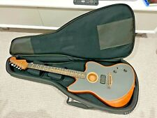More details for fender acoustasonic jazzmaster with case hardly used home use tungsten epic
