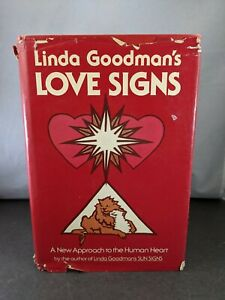 LINDA GOODMAN's LOVE SIGNS * 1978 Hardcover 1st Edition with Dust Jacket