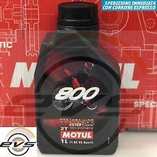 Olio Miscela Motul 800 2T Off Road FL Sintetico x Moto Cross Trial Competizione