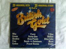 BRITISH GOLD 20 TRACK LP BY K-TEL