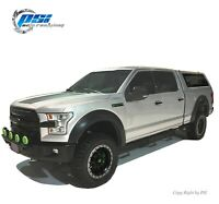 Extension Style Fender Flares Fits Ford F-150 2015-2017 Sand Blast Textured