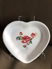 Fiesta® Medium 19oz Heart Bowl   Floral Bouquet