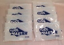 "Lot of 8 Reusable Ice Gel Pack ""COOL MASTER"" Cold Freezer Refrigerant Packs 500G"