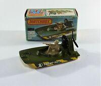 Matchbox 1-75 Series Superfast No.30 Swamp Rat. Diecast Model Boxed 1970's