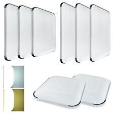 LED Deckenleuchte Badleuchte 36w 48w 96w Silber Küche Deckenlampe Wohnzimmer