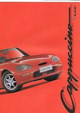 SUZUKI CAPPUCCINO CAR SALES BROCHURE OCTOBER 1993 FOR 1994