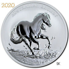 2020 Brumby 1oz Silver Coin