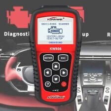 KW808 EOBD OBDII OBD2 Car Fault Code Reader Vehicles Scanner Diagnostic