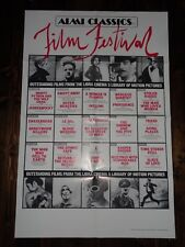 Almi Classics Film Festival 1984 Monty Python Eraserhead Original US Film Poster
