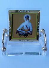 Shahid Baba Deep Singh Ji Photo Portrait Sikh  Desktop Chair Khalsa Stand A10