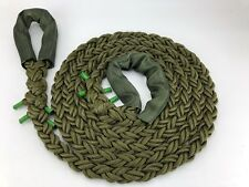 24mm Olive Military 8 Strand Nylon Kinetic 4x4 Recovery Tow Rope x 4.5 Metres