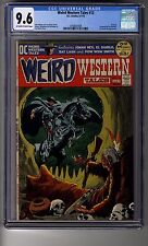 Weird Western Tales # 12 - CGC 9.6 OW/White Pages - Third Appearance Jonah Hex