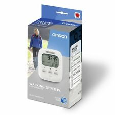 Omron HJ325 WHITE Walking Style IV Pocket Pedometer Step Counter / Brand New
