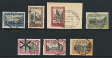 DANZIG 1924-32 SET, VF USED Sc#193-99 (SEE BELOW)
