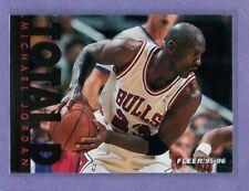 MICHAEL JORDAN 1995-96 Fleer Total D Insert Card #3 Chicago Bulls