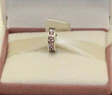 AUTHENTIC PANDORA Eternity, Blush Pink Crystal, 791724NBP  #154