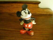Vintage 1930s Mickey Mouse Disney Toothbrush Holder Figurine Maw England