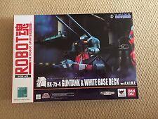 GUNDAM Robot Spirits RX-75-4 Gun Tank & White Base Desk Anime Limited Exclusive