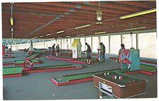 Scranton PA Championship Miniature Golf Courses Bumper Pool Postcard