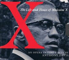 THE LIFE AND TIMES OF MALCOLM X - 2CDs NEU Opera In Three Acts by Anthony Davis