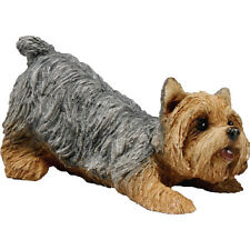 ♛ SANDICAST Dog Figurine Sculpture Yorkshire Terrier Yorkie