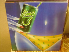 Lime 3 Lime LP Prism Records 1983 EX Denis Lepage Guilty Angel Eyes On the Grid