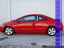 GTG 2006 - 2011 Honda Civic 2dr Coupe 2PC Chrome Stainless Steel Pillars Posts