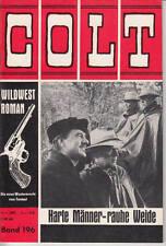 Colt SELVAGGIO WEST ROMANZO N. 196 *** condizioni 1-2 ***