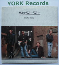 """WET WET WET - Broke Away - Excellent Condition 7"""" Single Precious JEWEL 10"""