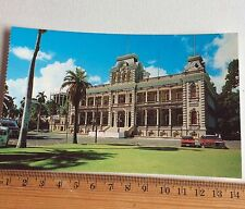 Vintage Colour Photo Postcard Iolani Palace Honolulu Hawaii