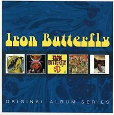 Iron Butterfly ORIGINAL ALBUM SERIES In-A-Gadda-Da-Vida HEAVY Live NEW 5 CD