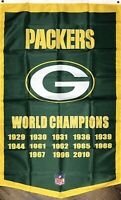 Green Bay Packers NFL Super Bowl Championship Flag 3x5 ft Football Sports Banner