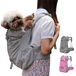 Pet Dog Carrier Bag Hands-Free Adjustable Portable Cat Puppy Backpack Travel Bag