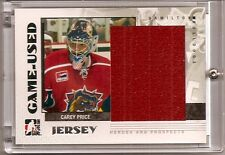 2007-08 ITG In The Game Heroes Prospects Carey Price GUJ-38  1 of 130 (H-0554)