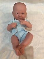 Berenguer Reborn Baby blue eyes newborn doll Signed Berenguer Reborn Bald